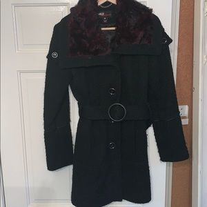 Miss Sixty wool blend coat